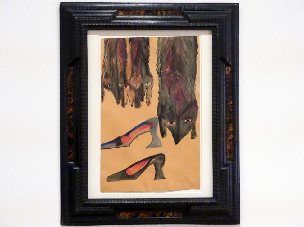 Carol Rama: Werk Nr. 11 (Füchse), 1938