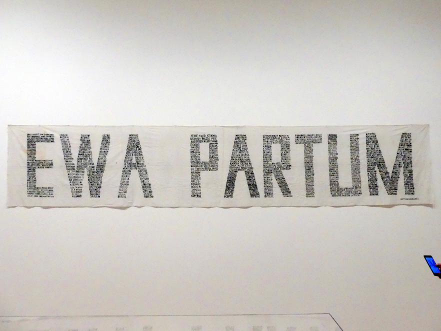 Ewa Partum: Autobiographie, 1971 - 1974