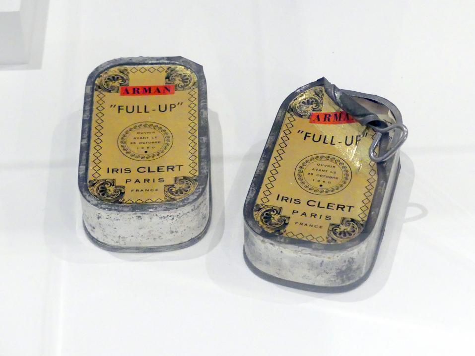 Arman: Full Up, 1960