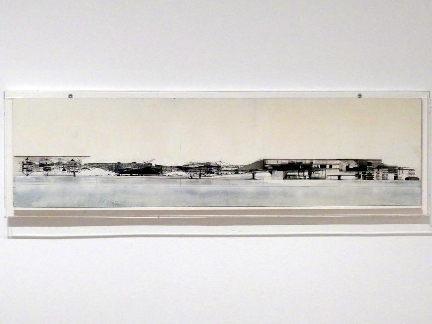 Constant (Constant Anton Nieuwenhuys): Collage von Sektormodellen, um 1969