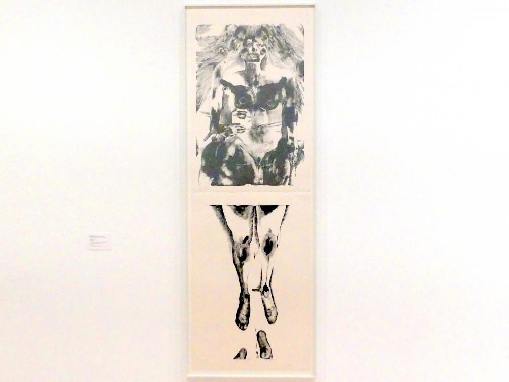 Marisol Escobar: Diptychon, 1971