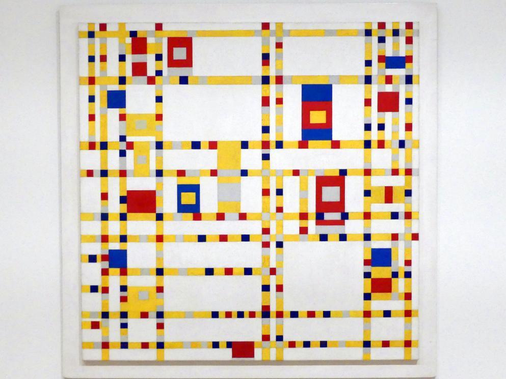 Piet Mondrian: Broadway Boogie Woogie, 1942 - 1943