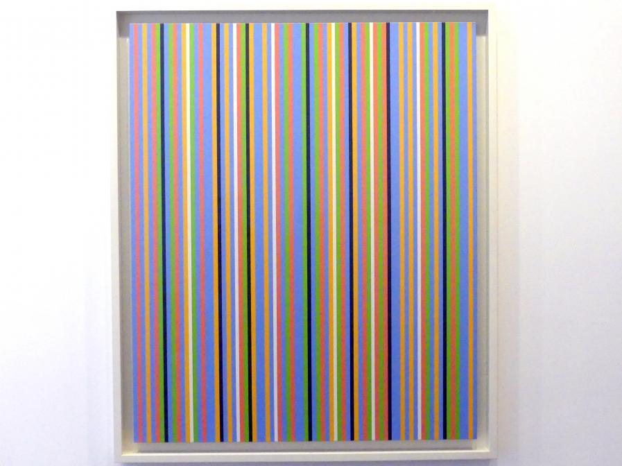 Bridget Riley: Blau etwa, 1983