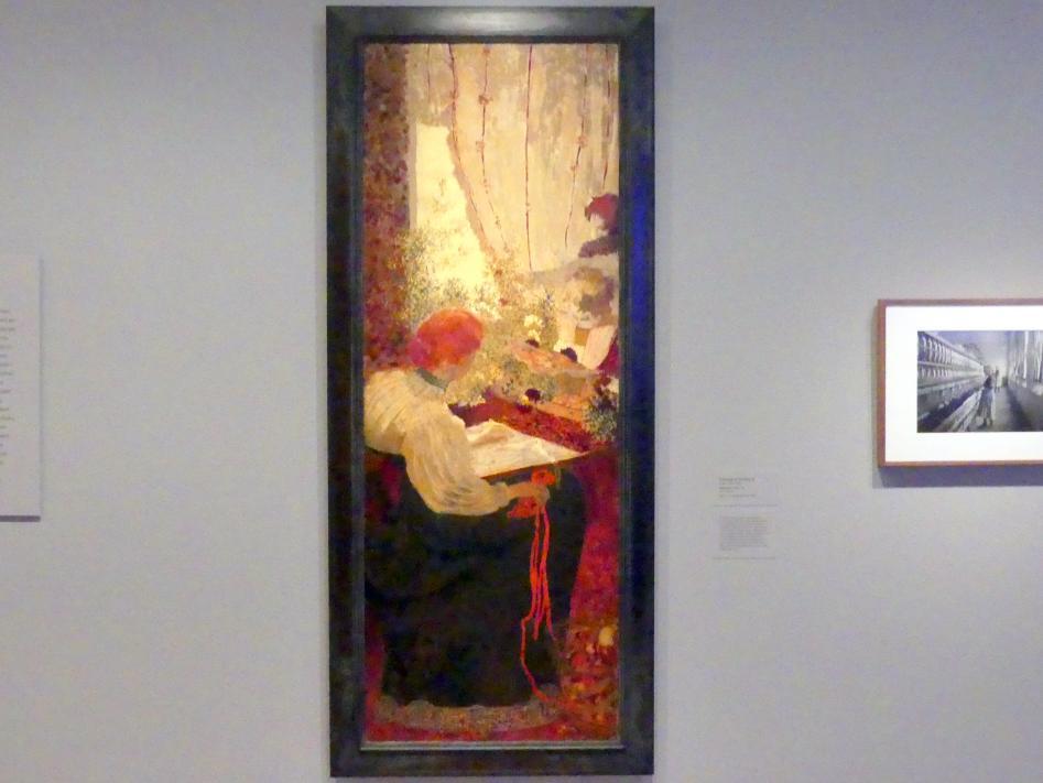 Édouard Vuillard: Stickarbeit, 1895 - 1896