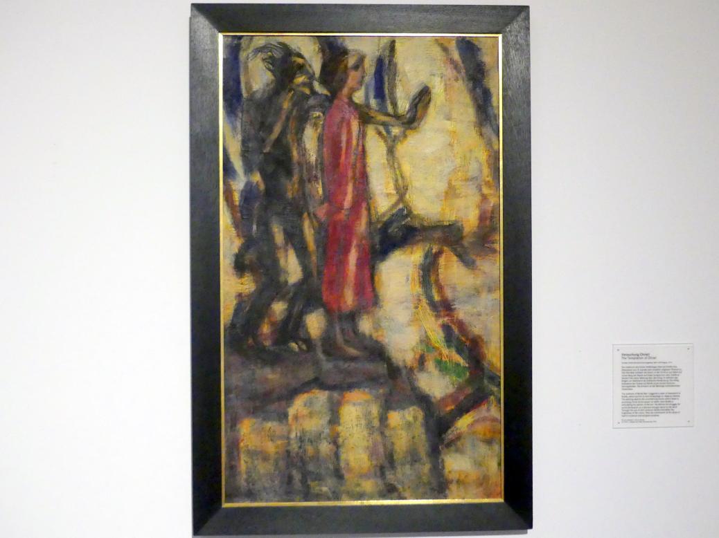 Christian Rohlfs: Versuchung Christi, 1914