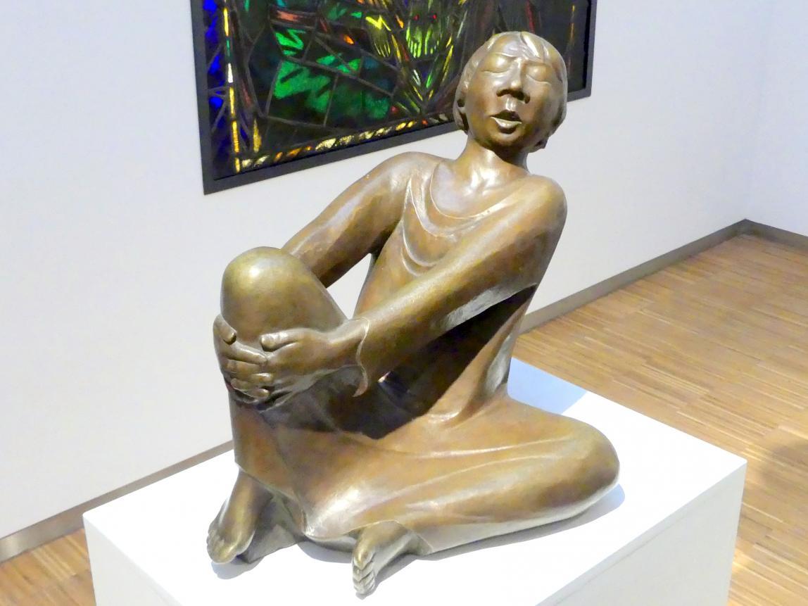 Ernst Barlach: Der singende Mann, 1928