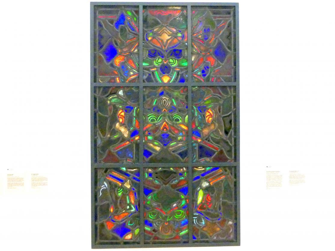 Jan (Johan) Thorn Prikker: Neunteilige abstrakte Komposition, um 1912