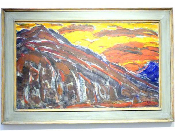 Christian Rohlfs: Visionäre Landschaft, 1912