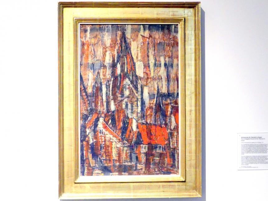 Christian Rohlfs: Stiftskirche St. Patrokli in Soest, 1912