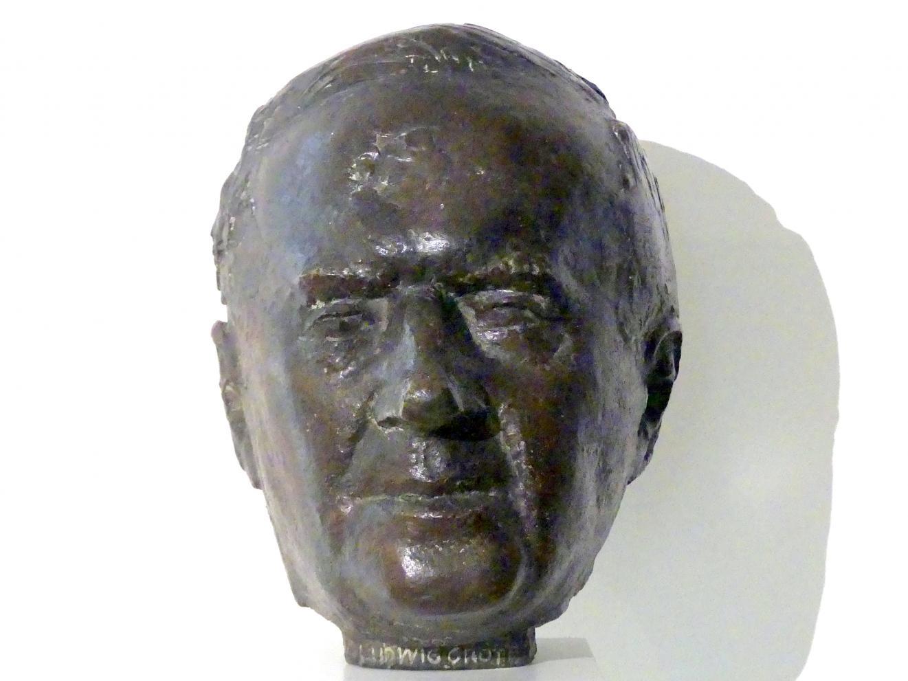 Gustav Seitz: Bildnis Dr. Ludwig Grote, 1964