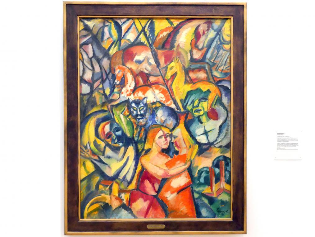Georg Tappert: Komposition I, 1919