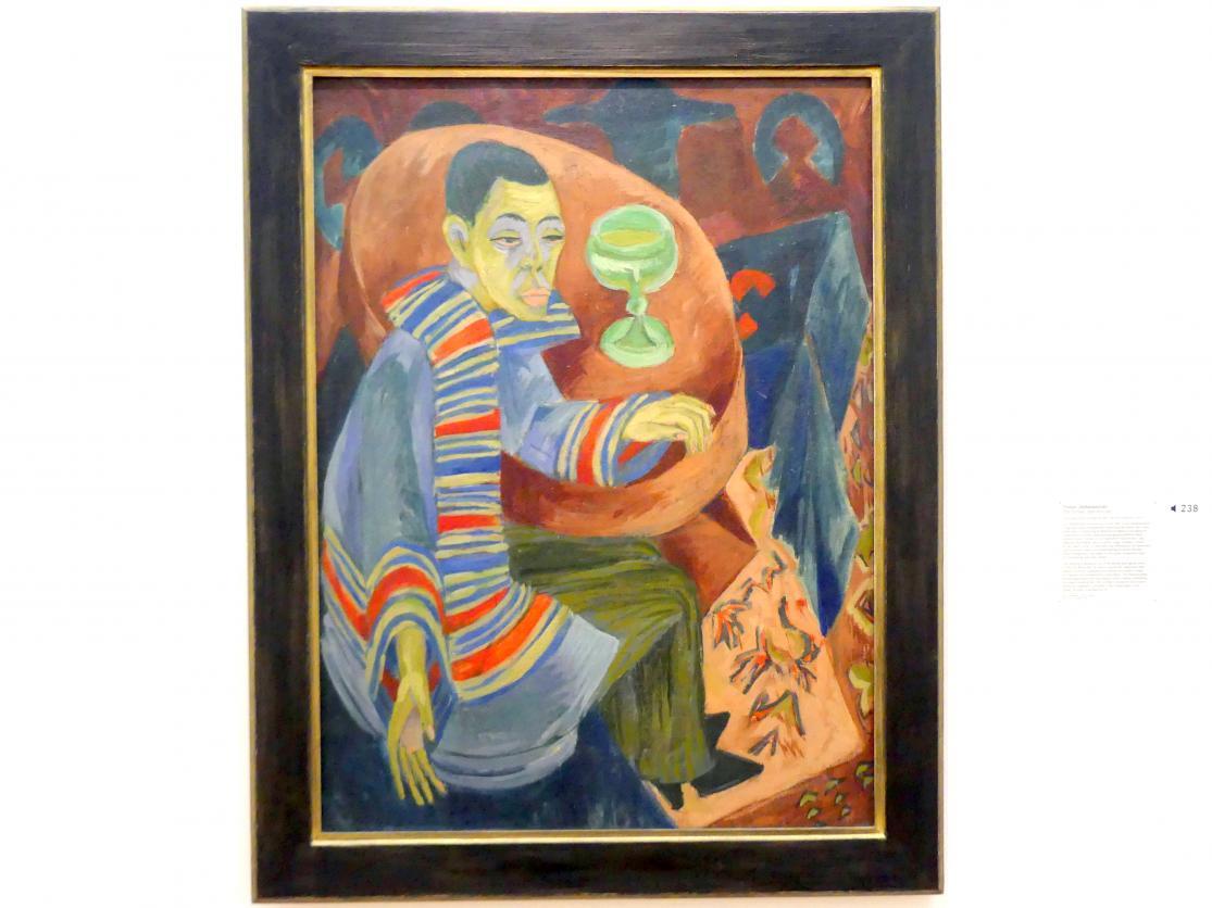Ernst Ludwig Kirchner: Trinker (Selbstporträt), 1914 - 1915