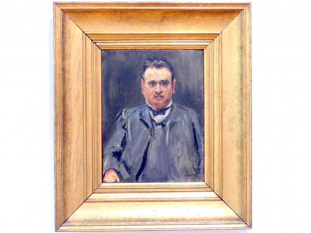 Max Slevogt: Bildnis des Professors Voll, 1907