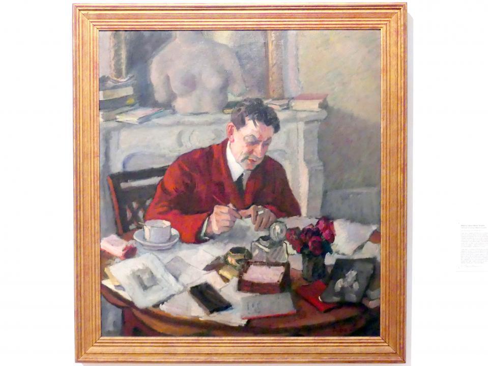 Eugene (Eugen) Spiro: Bildnis Julius Meier-Graefe, 1913