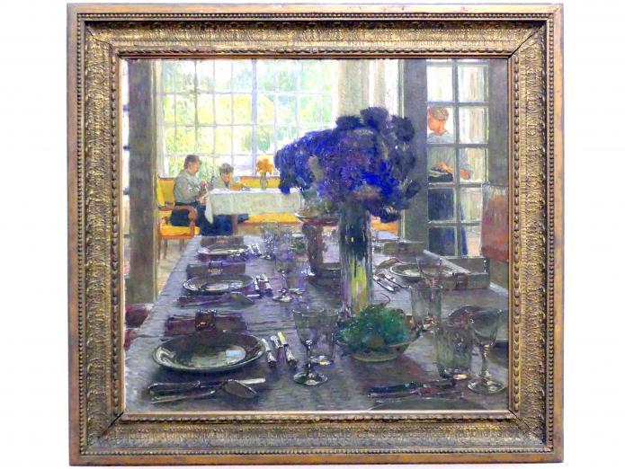 Carl Moll: Gedeckter Tisch, um 1906