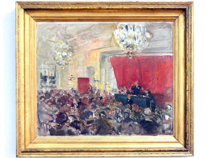Max Slevogt: Auktion Huldschinsky, 1928