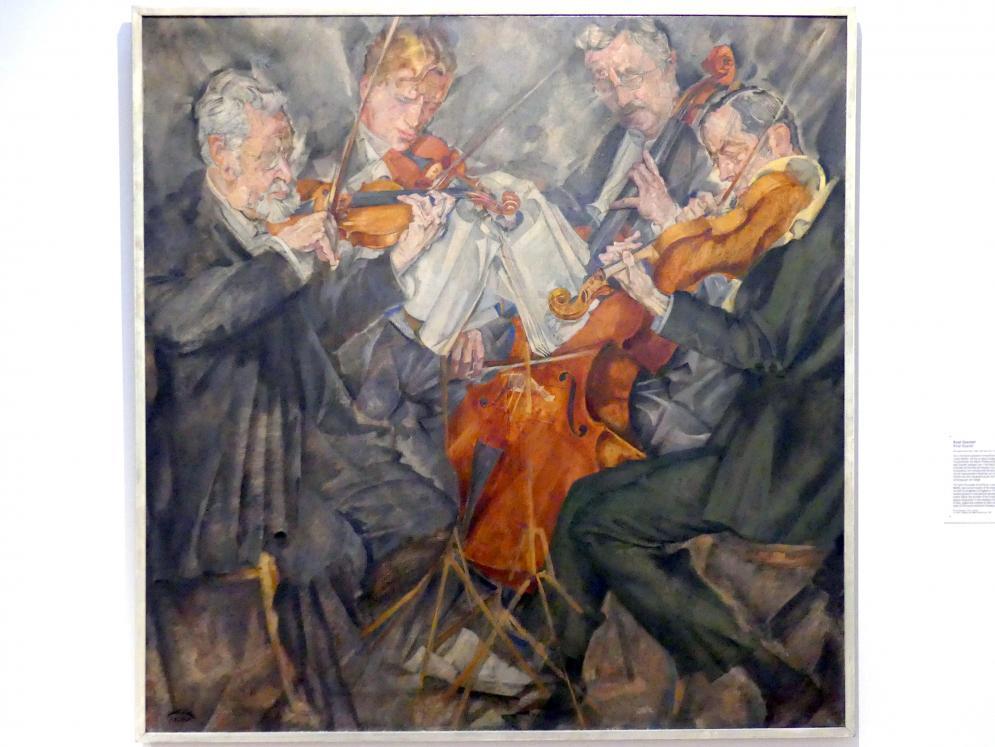Max Oppenheimer: Rosé Quartett, 1924