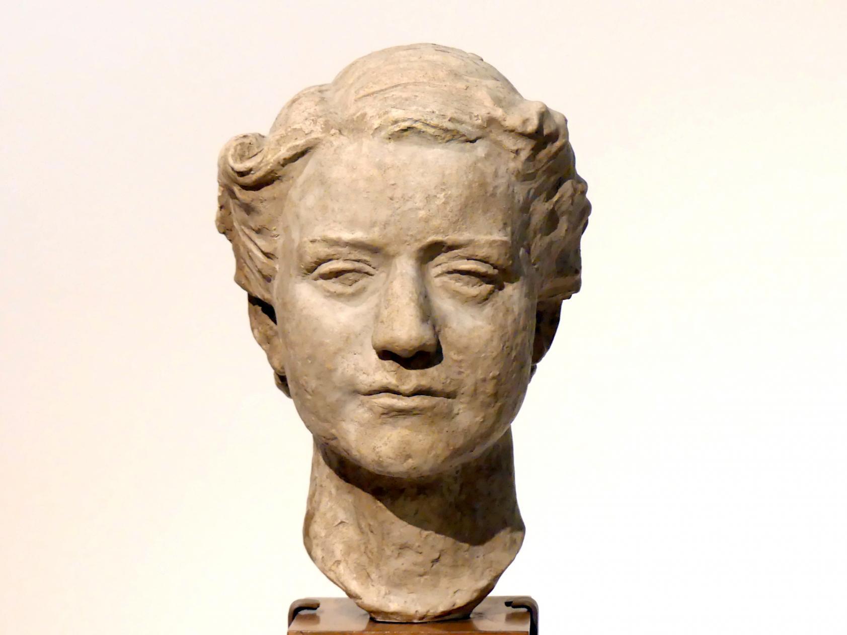 Büste der Frauenrechtlerin Clara Zetkin, 1901