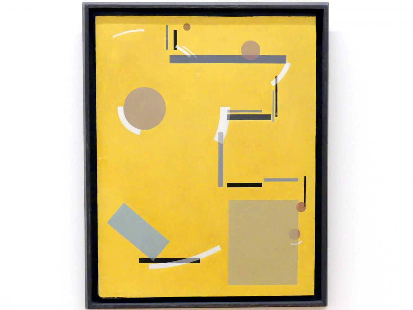 Carl Buchheister: Konstruktives Spiel, 1927