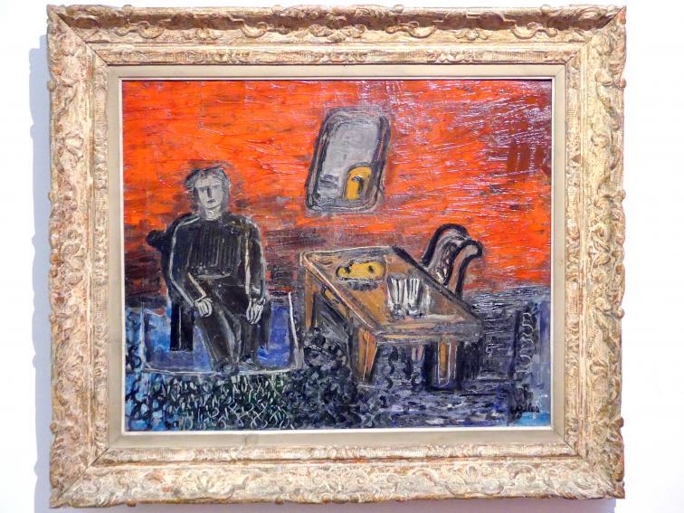 Werner Gilles: Knabe mit Maske, 1927 - 1929