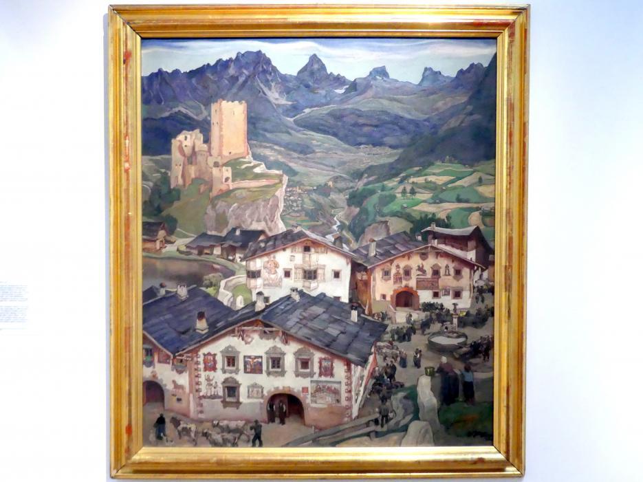 Erwin Puchinger: Markt in Tirol, 1939