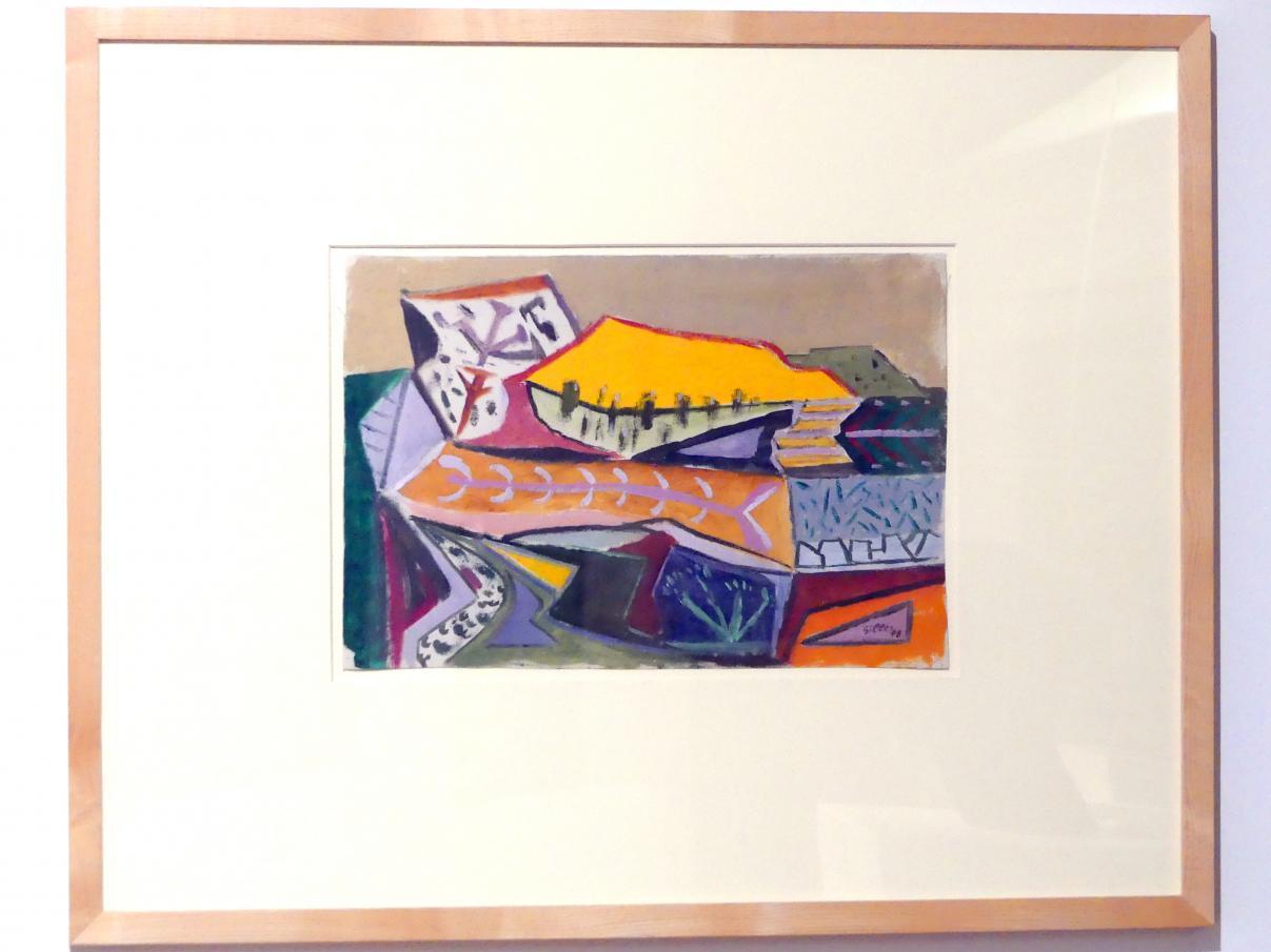 Werner Gilles: Steinbruch (Schwarzenbach an der Saale), 1948