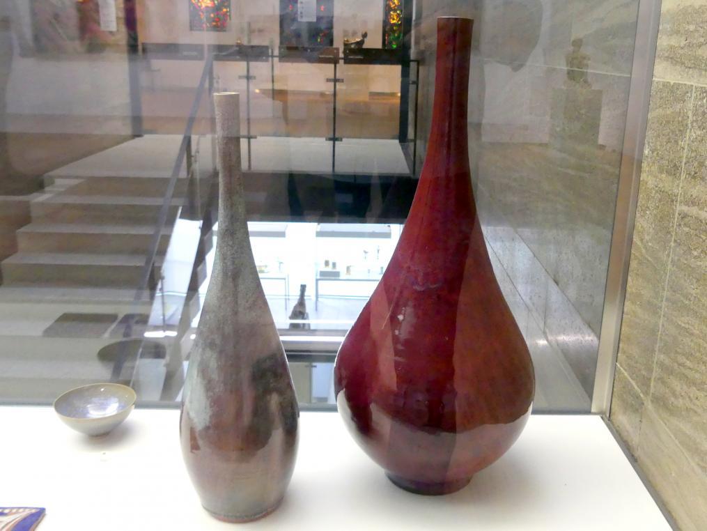 Albrecht Hohlt: Zwei große Vasen, um 1955 - 1960