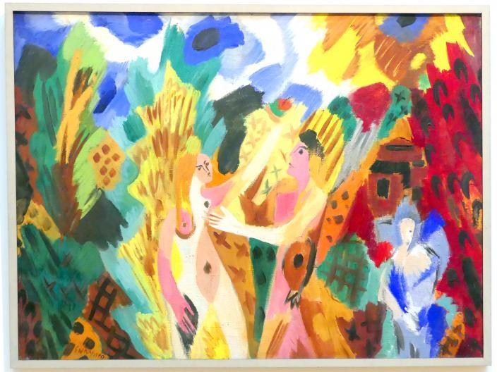 Ernst Wilhelm Nay: Paar im Herbst, 1940