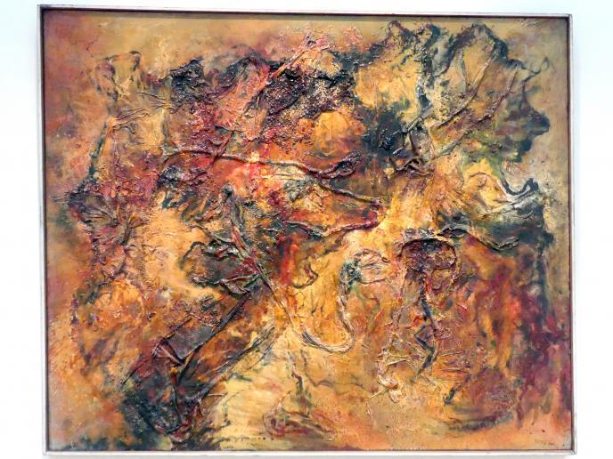 Bernard Schultze: Rotes Bild, 1956