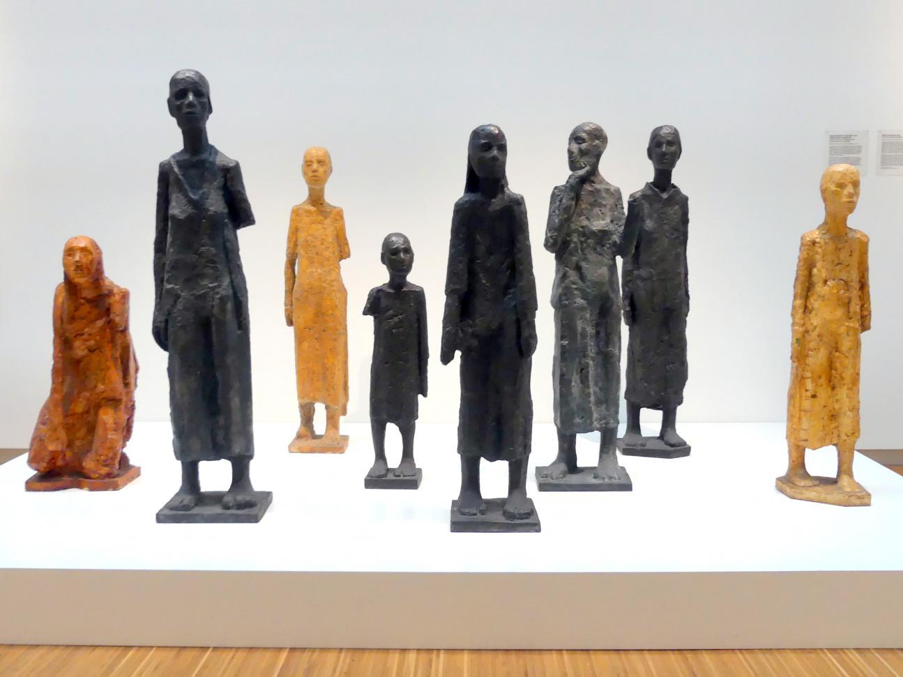 Will Lammert: Figurenentwürfe für die Mahn- und Gedenkstätte Ravensbrück, 1954 - 1957