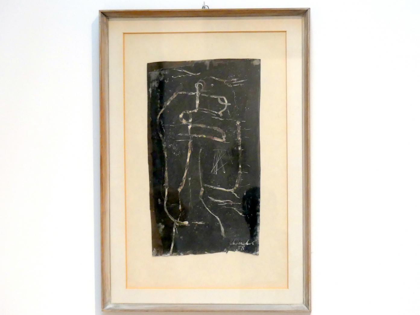 Emil Schumacher: Ohne Titel, 1958