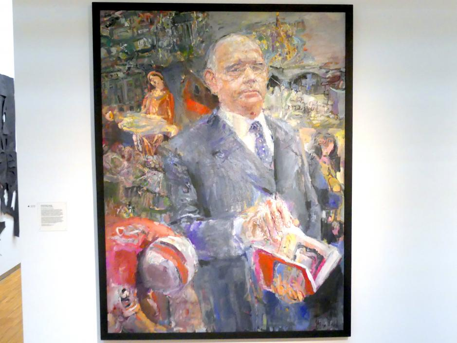 Bernhard Heisig: Portrait Peter Ludwig, nach 1983