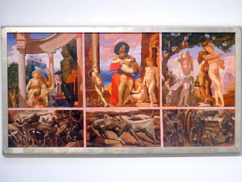 Werner Tübke: Der Mensch - Maß aller Dinge, 1975