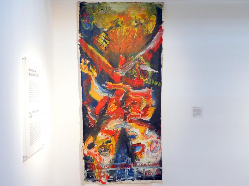 Hartwig Ebersbach: Gladiatorenkampf - Ein Traum, 1982