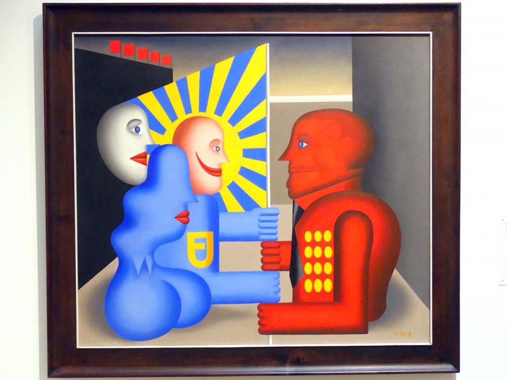 Hans Ticha: Freie Jugend, 1979