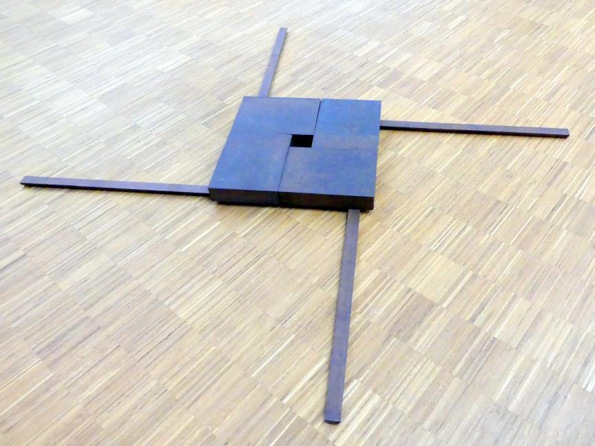 Heinz-Günter Prager: Quadratkreuz 6/89, 1989