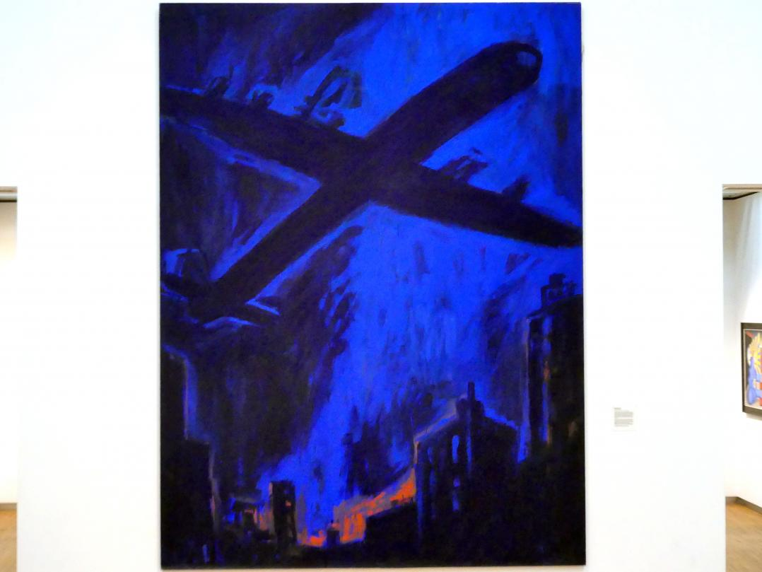 Helmut Middendorf: Flugzeugtraum, 1982