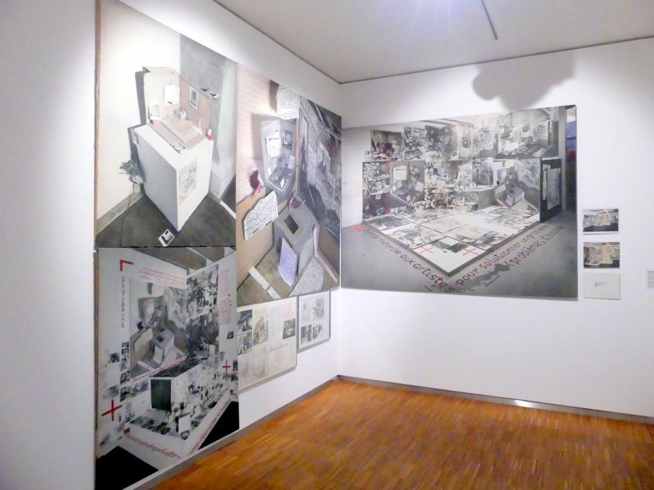 Anna Oppermann: Problemlösungsauftrag an Künstler (Raumproblem), Reduktion, 1984