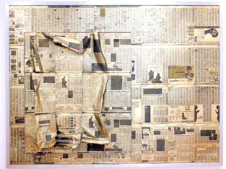 Olaf Metzel: Il Messagero, martedi 11. ottobre 1988, 1989