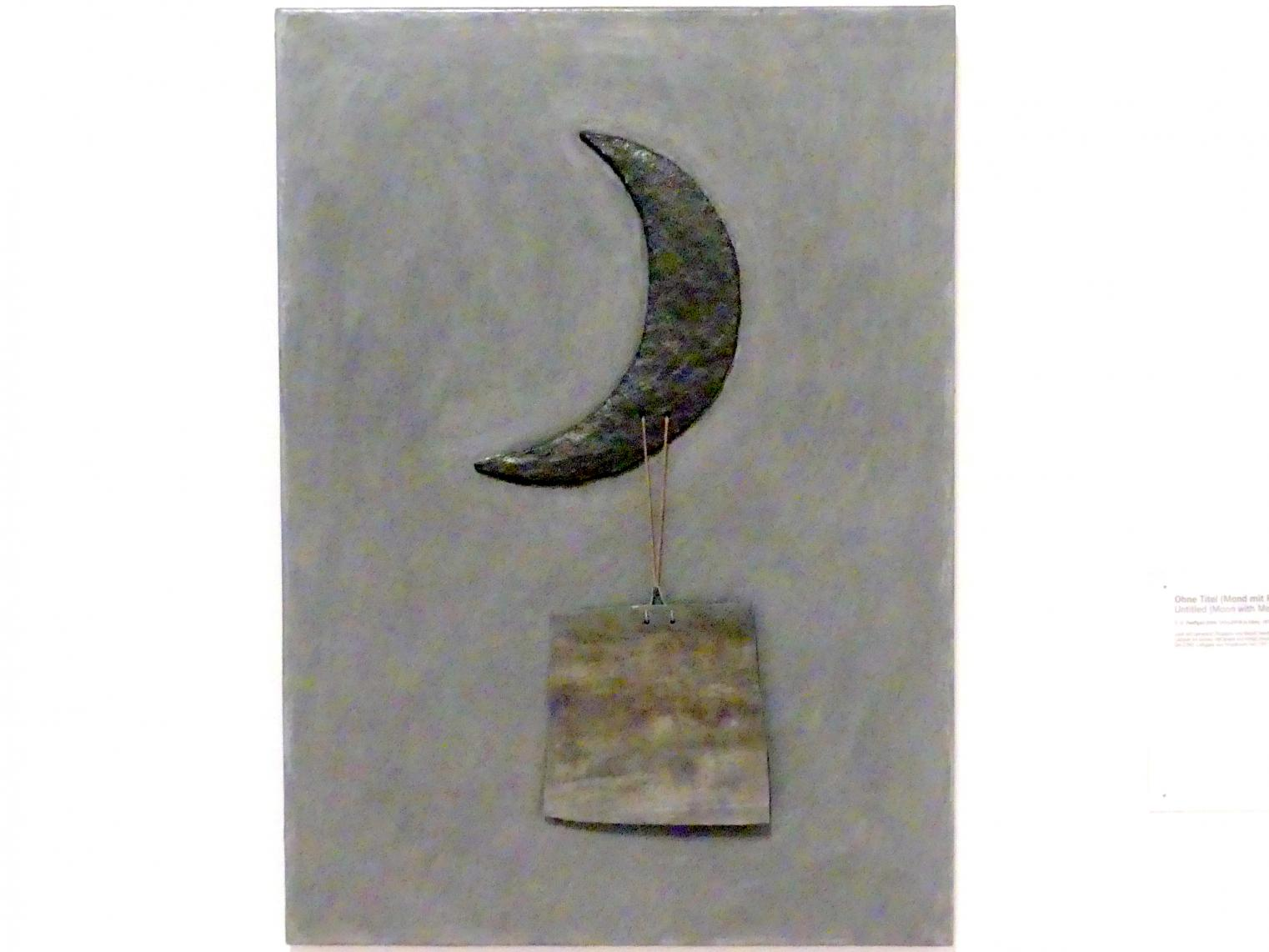 C.O. Paeffgen: Ohne Titel (Mond mit Platte), 1972