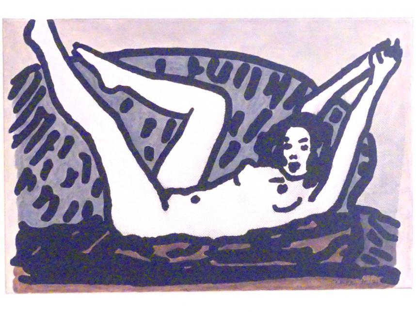 C.O. Paeffgen: Liegender Akt, 1970