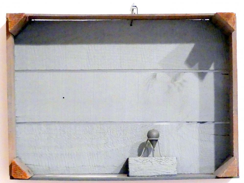 C.O. Paeffgen: Landschaft in der Kiste, 1970