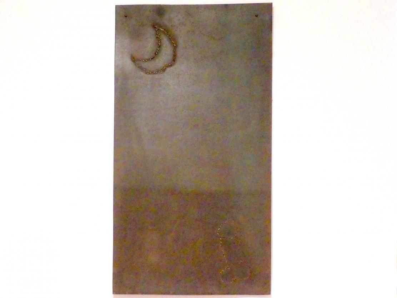 C.O. Paeffgen: Eisenplatte mit Mondsichel, Undatiert
