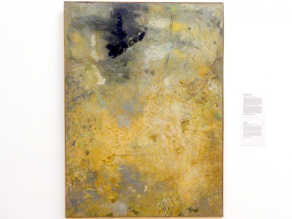 Carl Buchheister: Komposition Granle, 1960