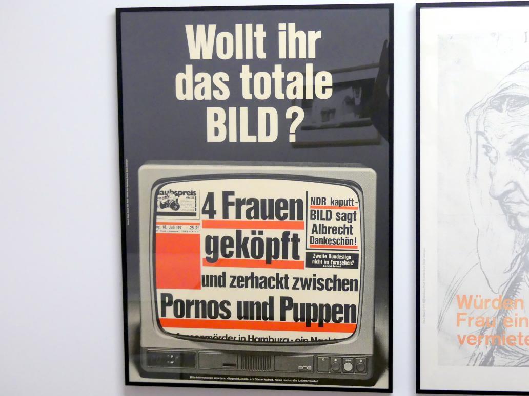 Klaus Staeck: Wollt ihr das totale BILD, 1976