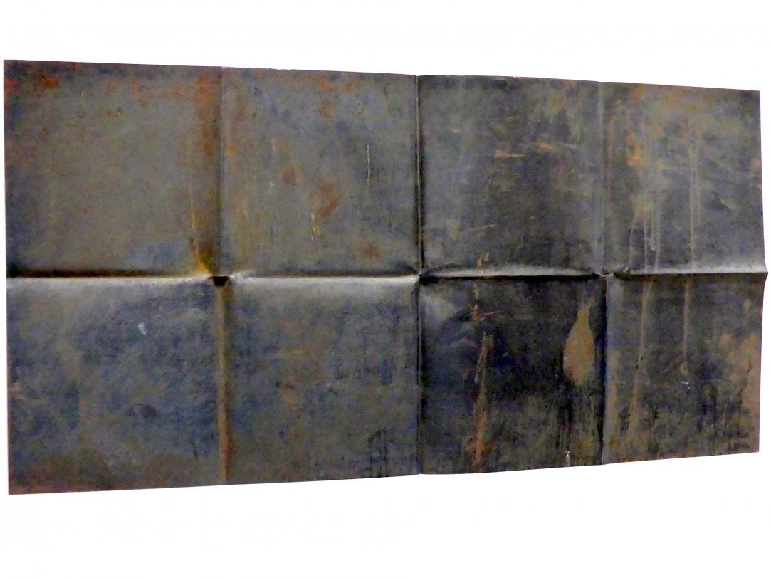 Ansgar Nierhoff: Entfaltung - 2 Achsen, 1977, Bild 2/5