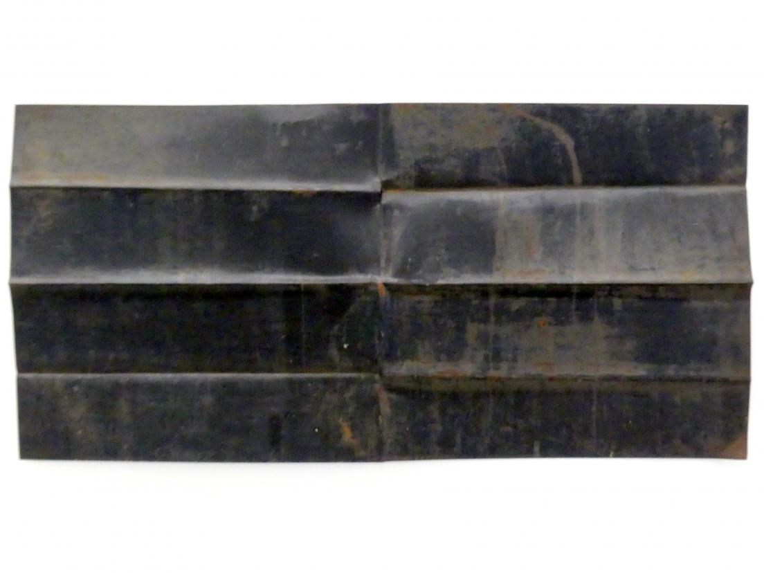 Ansgar Nierhoff: Entfaltung - 2 Achsen, 1977, Bild 3/5