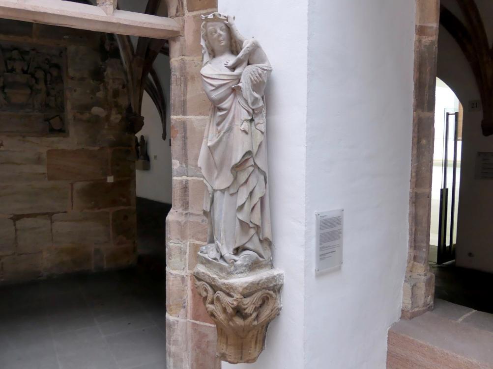 Muttergottes, um 1315