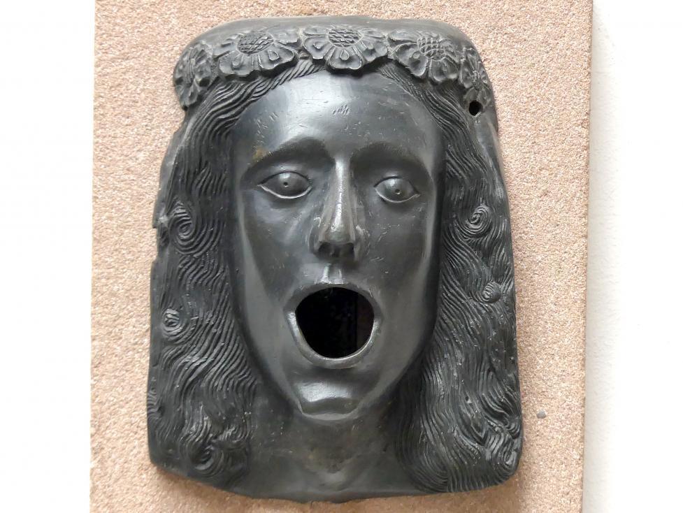 Brunnenmaske eines Jünglings, um 1400