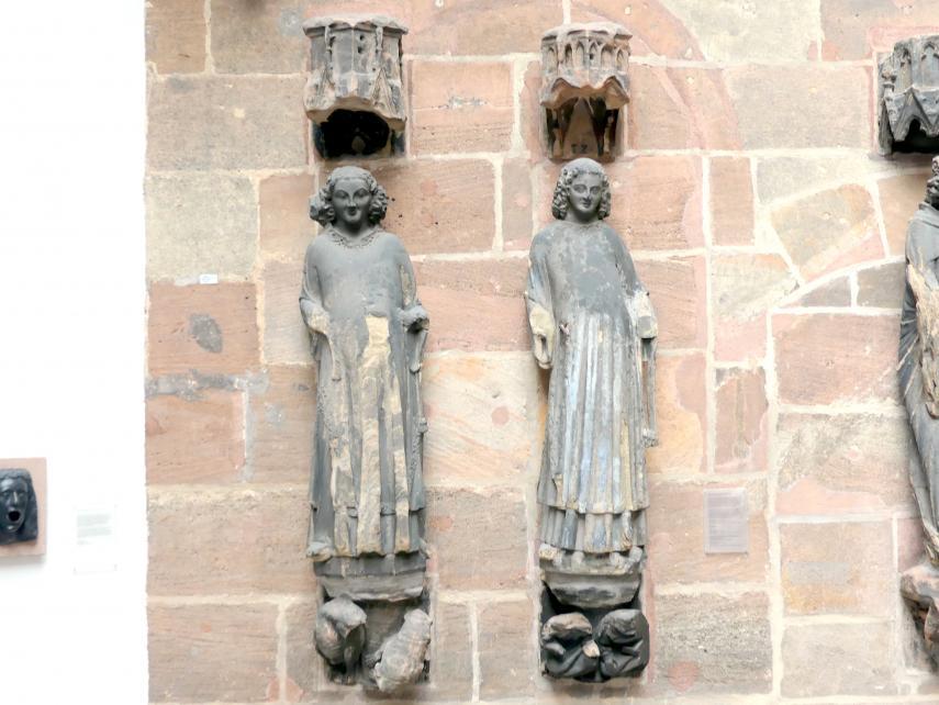 Hll. Stephanus und Laurentius, um 1355